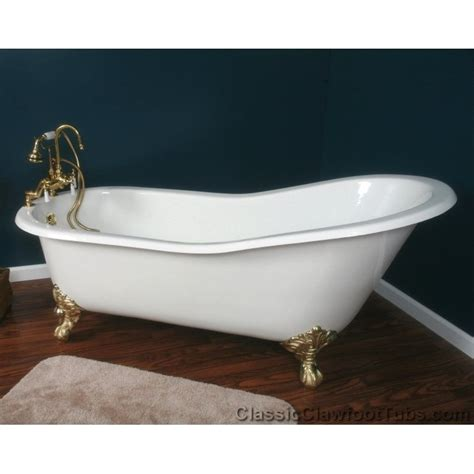 Cast Iron Clawfoot Bathtubs by 67 Quot Cast Iron Slipper Clawfoot Tub Classic Clawfoot Tub