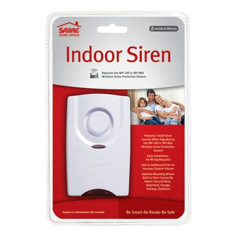 indoor siren alarm sabre wireless home alarm siren