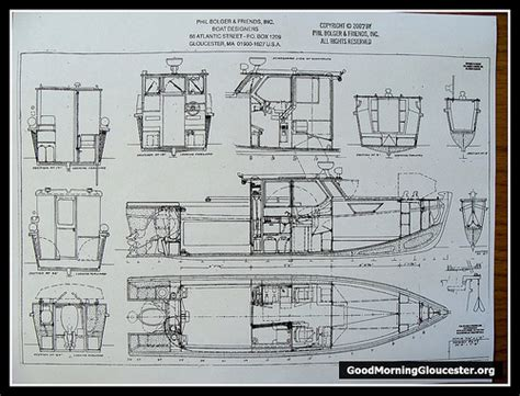 sport fishing boat blueprints free bolger boat plans plan make easy to build boat