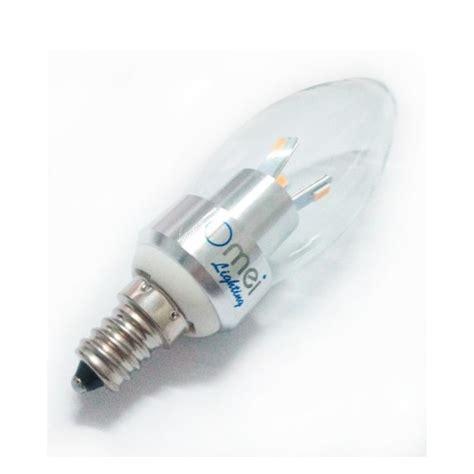 flame tip led 3w e12 candelabra base bulbs 40w 40 watt