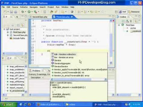 tutorial php eclipse php tutorial eclipse as a php ide to develop php