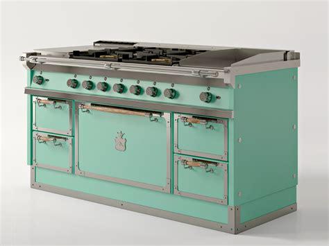 cucine gullo cooker og168 aquamarine by officine gullo