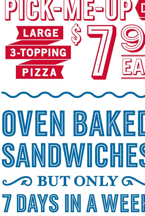 domino pizza font brand new new custom type family for domino s pizza by