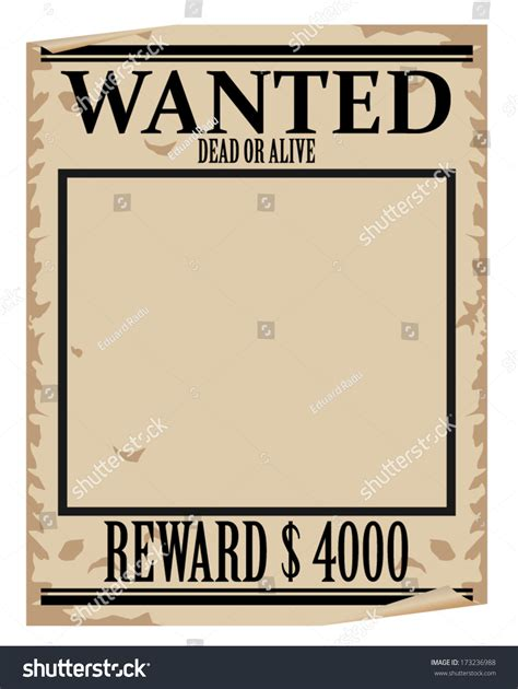 wanted sign template wanted poster format portablegasgrillweber