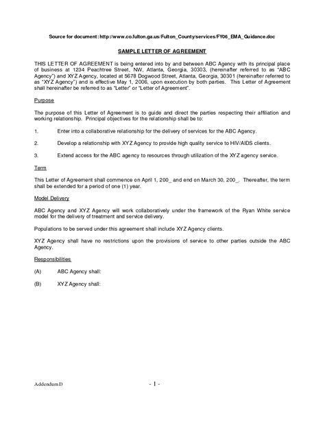 9 payment agreement sample address example