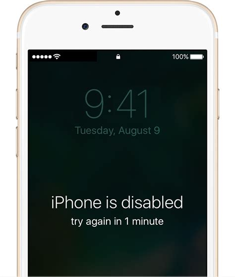 my iphone is disabled 4 ways to reset iphone 6 when locked without password