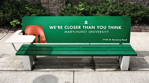park bench advertising 40 creative benches every city should have top design