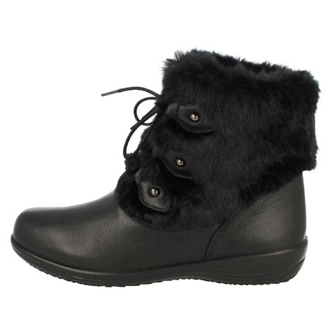 padders wide fitting ankle boots ebay