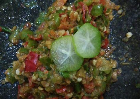 resep sambal belimbing wuluh praktis oleh nink humphry