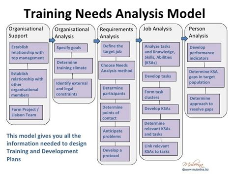 organizational needs analysis template best 25 and development ideas on