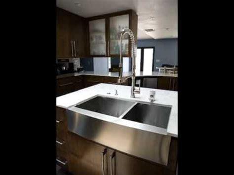 stainless steel farmhouse sinks amp undermount sinks youtube