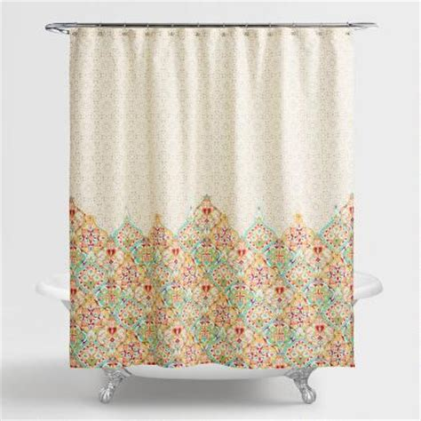 collingswood shower curtain gigi floral shower curtain world market