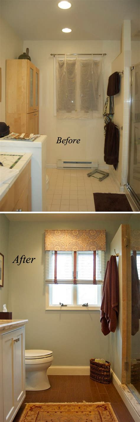 Small Bathroom Makeovers Before And After by Before And After 20 Awesome Bathroom Makeovers Hative