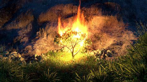 The Burning Bush artstation burning bush michael power