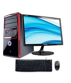 Desk Top by Assembled Desktop Intel I3 Processor 2gb Ram 500 Gb