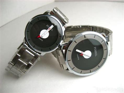 Jam Tangan Pria Diesel Gear Rantai Black Plat Black jam tangan idj fossil