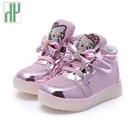 size 8 kid shoes hello toddler led shoes light up glowing