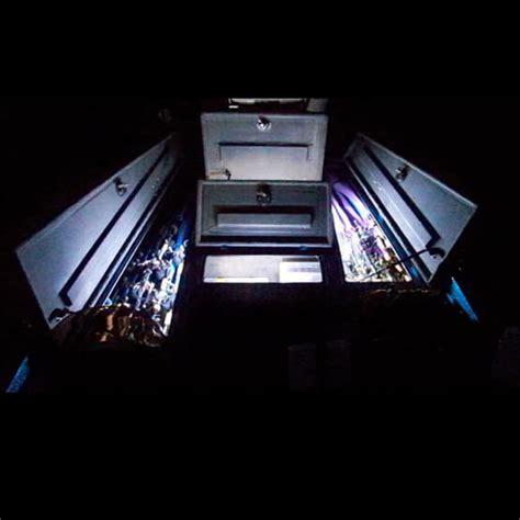 bass boat led light kit led rod locker lighting kits bass boat led compartment