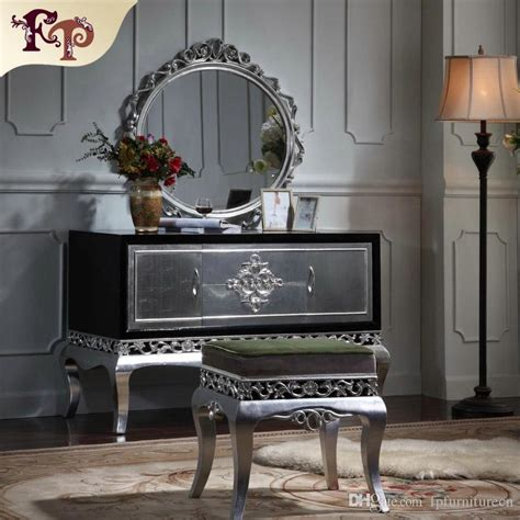 neoclassical furniture luxury french royalty classic bedroom furniture set cracking paint
