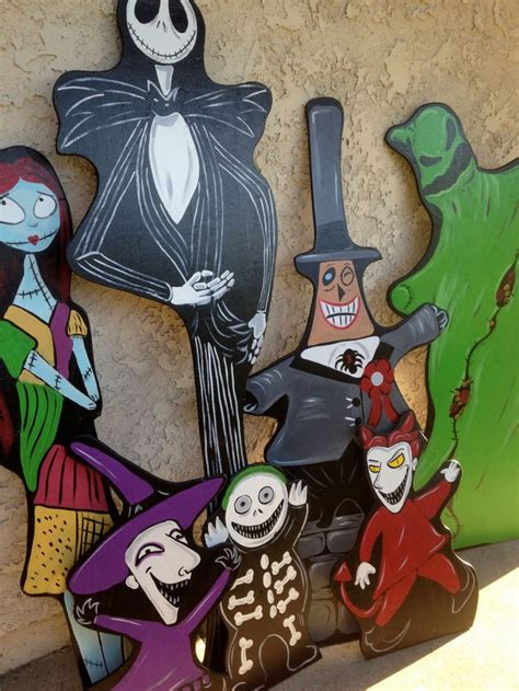 Skellington Yard Decoration by 25 Best Ideas About Nightmare Before