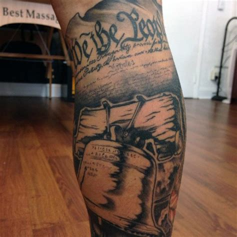 liberty bell tattoo 60 we the designs for constitution ink