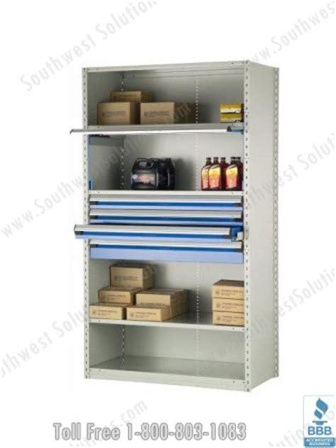 industrial storage shelves with drawers industrial shelving steel drawers metal racks racking