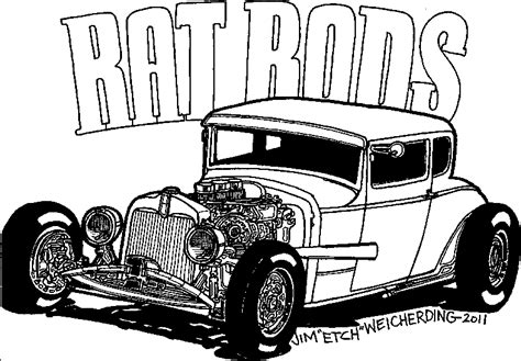 coloring pages rat rods free coloring pages of rat rod cars