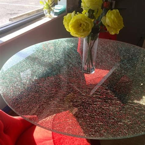 shattered glass coffee table home design ideas and pictures