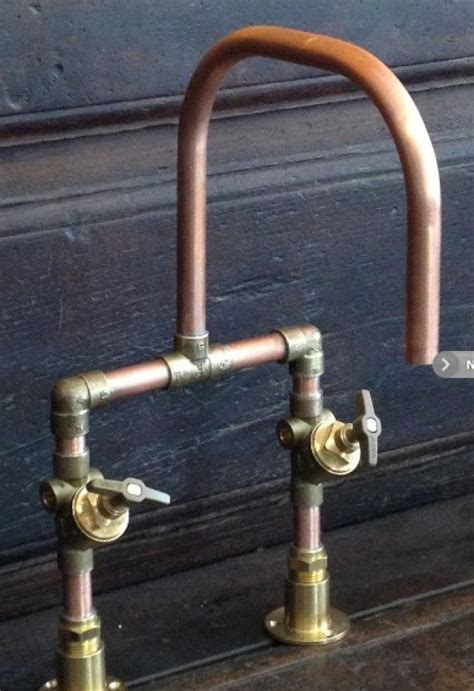 Diy Sink Plumbing by Diy Faucet With Copper Pipes And Brass Fittings