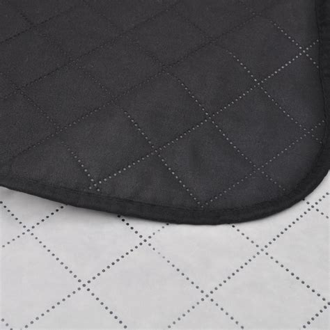 copriletto bianco copriletto reversibile nero bianco 170 x 210 cm vidaxl it