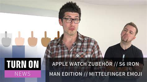 apple zubehoer iron man edition mittelfinger