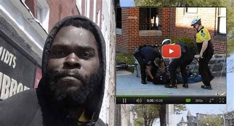Freddie Gray S Criminal Record Who Filmed Of Freddie Gray Arrested By