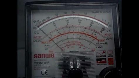 Multimeter Digital Dan Analog multimeter analog