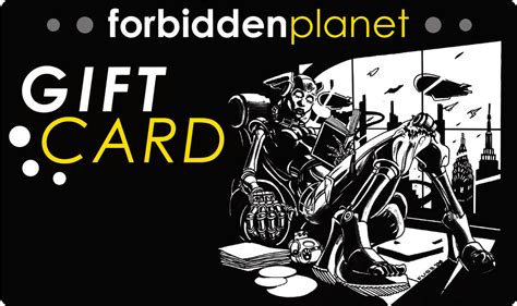 Gift Card Planet - forbidden planet nyc gift card promotion 2011 the daily planet