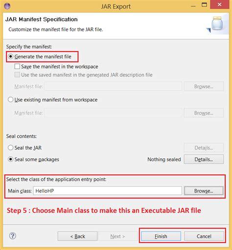 audio format java exle how to make executable jar file in eclipse ide java java67
