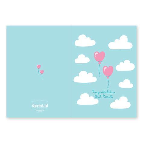 membuat kartu ucapan pernikahan online cetak online kartu ucapan pernikahan wc005 uprint id
