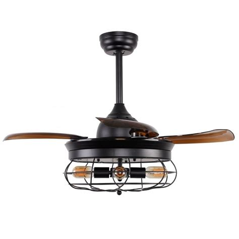 36 inch ceiling fan 36 inch industrial caged ceiling fan with remote