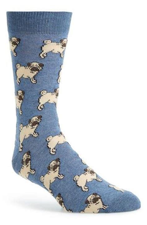 pug socks mens s topman pug pattern socks blue from nordstrom