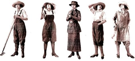 World war i changes fashion recollections blog