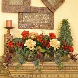 Silk Decor Home Accents Floral Home Decor Silk Floral And Ivy Ledge Plant