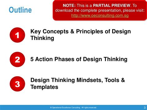 design thinking consultant design thinking by operational excellence consulting