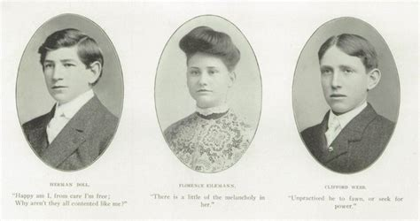 hairstyles for yearbook hairdos 1905 from the yearbook of lakewood high school