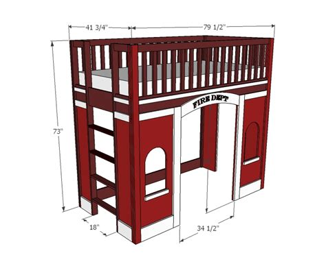 firehouse bunk bed firehouse bunk bed painted firehouse loft bed fhb 200