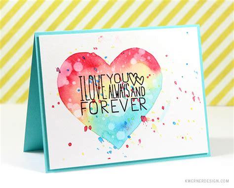make a card monday masked watercolor cards make a card monday 270