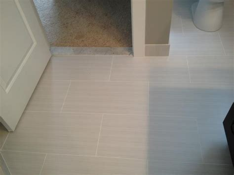 12x24 tile in small bathroom master bathroom 12x24 zera contemporary detroit by