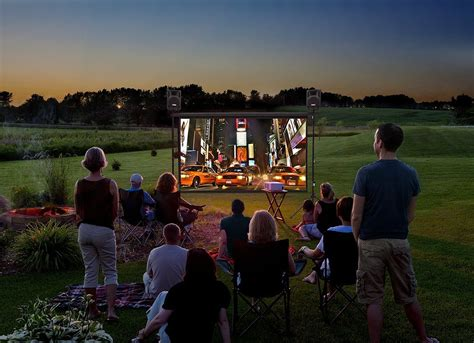 outdoor movie night outdoor living spaces 7 ideas to
