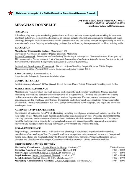 chronological resume sle format traditional resume format 28 images doc 645831 free