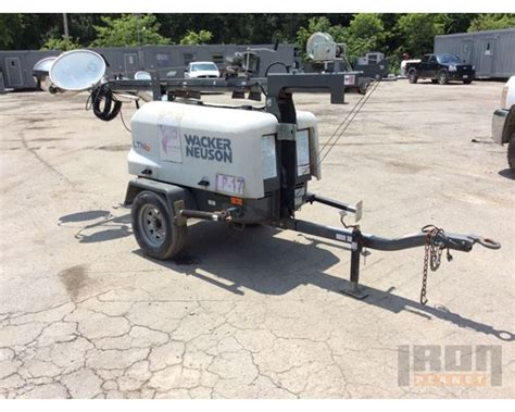 wacker neuson light tower parts kohler engine model and serial number location on a
