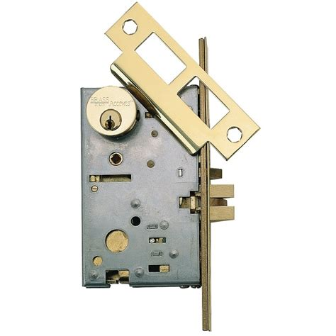 Mortise Door Knob by Brass Accents Mortise Lock Handle Lever