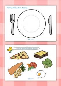 twinkl resources gt gt healthy eating meal activity